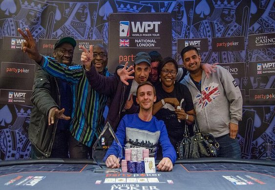 Laurence Houghton Rivers a WPT Win