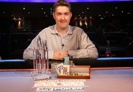 Leigh Wiltshire Wins Sky Poker UKPC