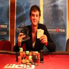 "Lewis ""Browndog"" Taylor wins Sky Poker Tour Blackpool."