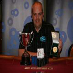 Mark Briggs is APAT English Amateur Poker Champion