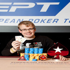 PokerStars Team Online's Petersen wins EPT Copenhagen