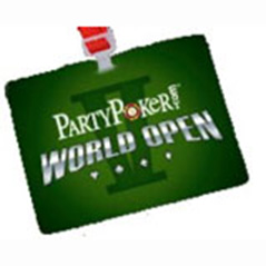 PartyPoker World Open V Well Underway