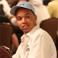 Is it a bird? Is it a plane? No it's Phil Ivey