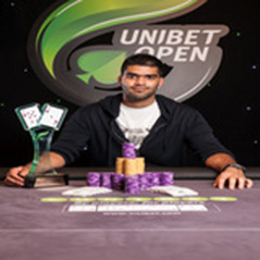 Pratik Ghatge wins Unibet Open