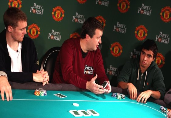 Man Utd Stars' Poker Nights