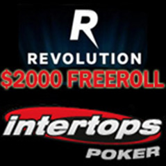 $2,000 freeroll at Intertops Poker this weekend