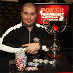 Sammy George takes PokerHeaven European Cash Game Title