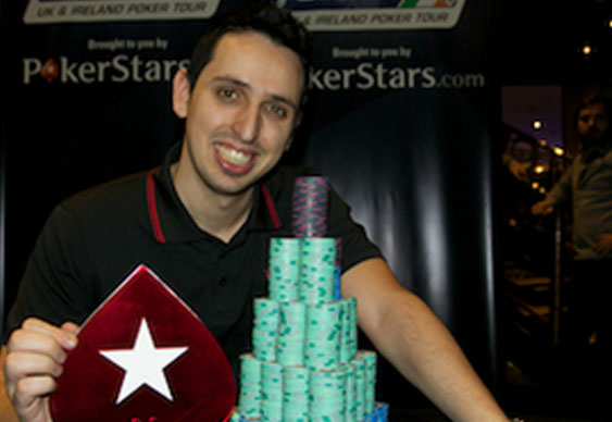 Sergio Aido wins UKIPT Grand Final