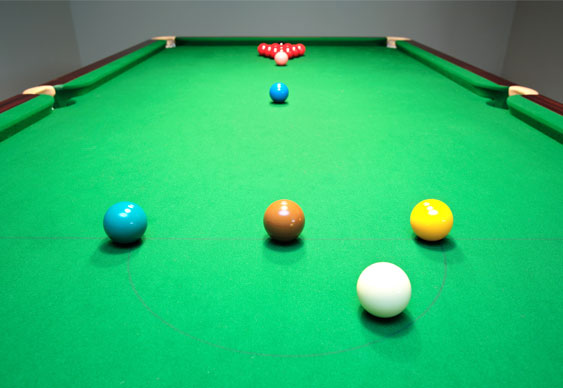 Former poker dealer wins World Championship Snooker debut