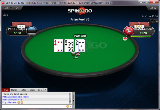 Spin & Go Week at PokerStars