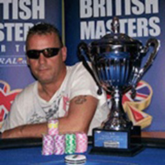 Golden Holden wins the latest leg of the British Masters Of Poker