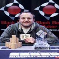 Stuart Hyson wins Black Belt Poker Live