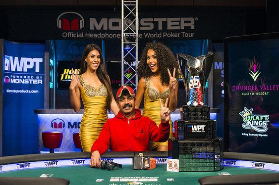 Sundar wins WPT Rolling Thunder