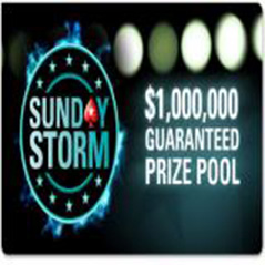 $1m up for grabs in PokerStars Sunday Storm