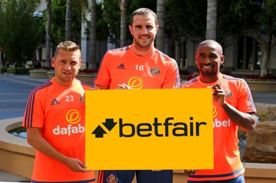 Betfair Join Forces with Sunderland