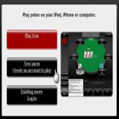 Real money poker on the iPad from today