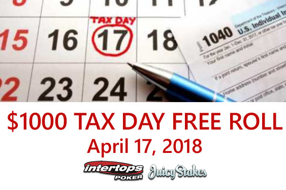 Pair to run $1,000 Tax Day Freeroll