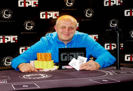 Sirionas Tops Friend to Lift GUKPT Cardiff Title