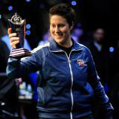 Vanessa Selbst wins $2,500 Six-Max Ten-Game Mixed event