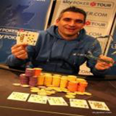 Wayne Rideout wins Sky Poker Tour Newcastle