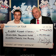 Robbie Fisher-O'Brien wins Sky Poker Tour Grand Final