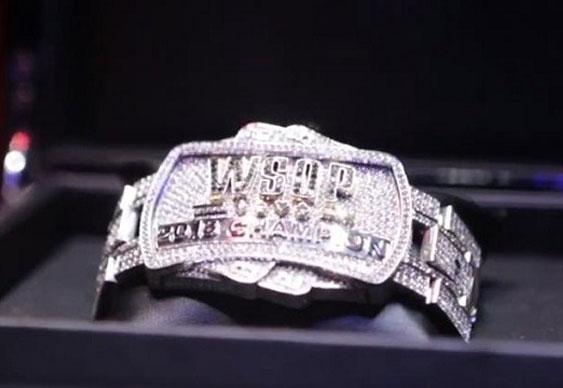 WSOP unveils Doyle bust