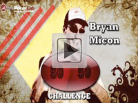 Bryan Micon takes the 50/50 challenge