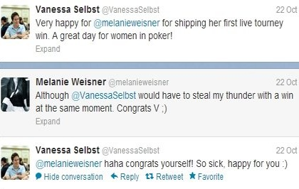 Weisner tweets