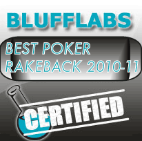 Best Poker RakeBack 2010-11